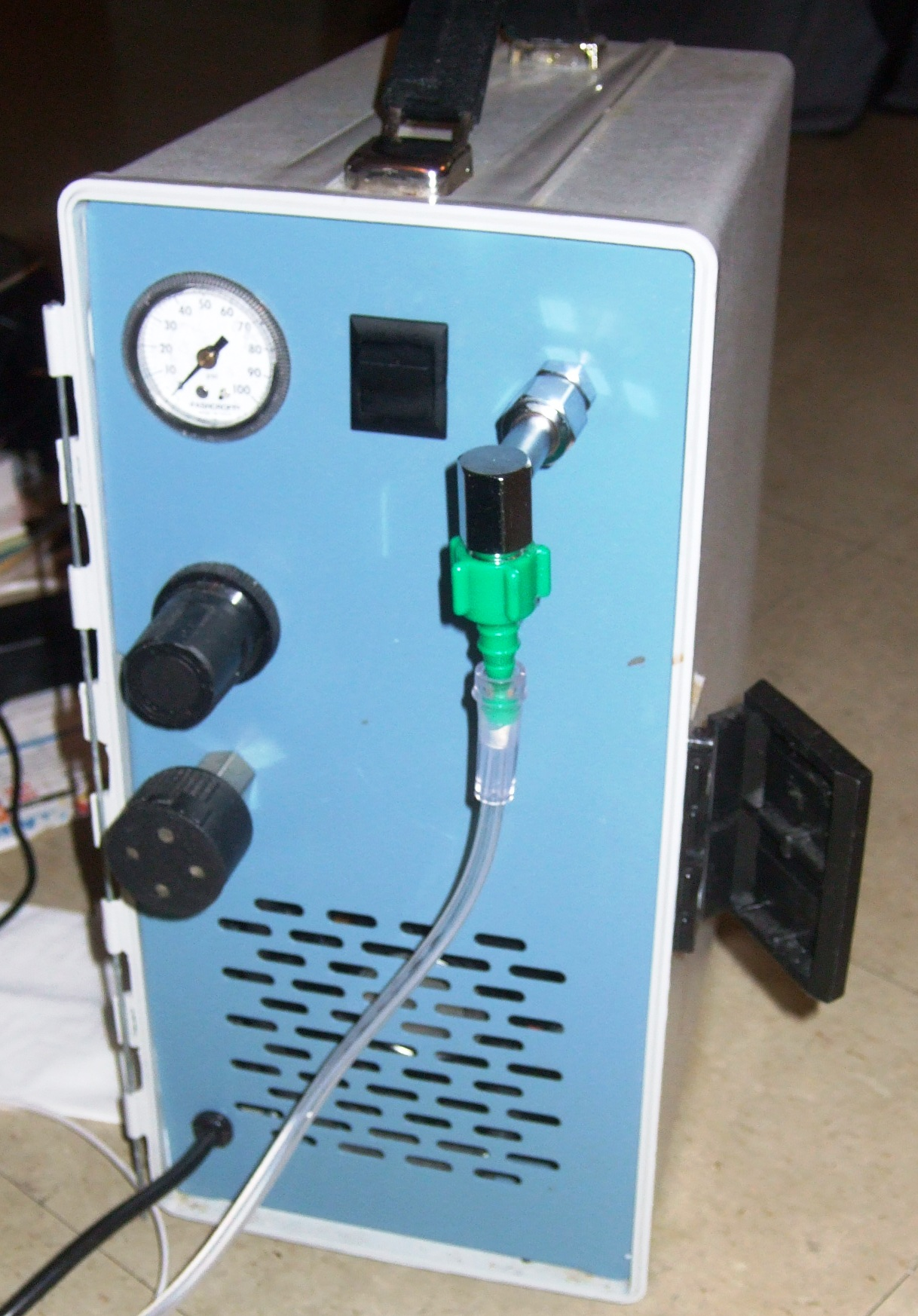 How To Use An Air Compressor >> My Medical Stuff!